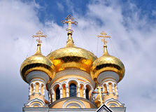 Yalta orthodox catherdral Stock Photo