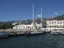 Yalta, port Photo stock