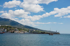 Yalta port Royalty Free Stock Images
