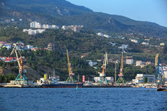 Yalta port Stock Photos