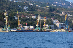Yalta port Royalty Free Stock Image