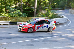 Yalta Prime Rally 2010 in Ukraine Royalty Free Stock Photography