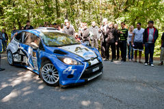 Yalta Prime Rally 2010 in Ukraine Royalty Free Stock Photos