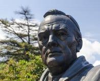 Yalta, RUSIA - 3 de julio: Abertura del monumento adentro imagen de archivo libre de regalías