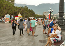 Yalta seafront, Crimea Royalty Free Stock Photos