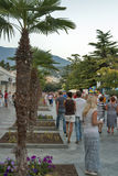 Yalta seafront in Crimea Stock Photos