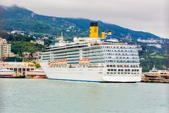 YALTA, UKRAINE - MAY 27:  Costa Mediterranea Stock Photos