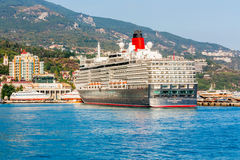 YALTA, UKRAINE - OCTOBER 7: First visit of the Queen Elizabeth s Stock Image