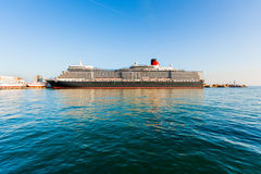 YALTA, UKRAINE - OCTOBER 7: First visit of the Queen Elizabeth s Royalty Free Stock Images