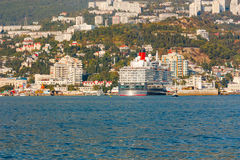 YALTA, UKRAINE - OCTOBER 7. Royalty Free Stock Image