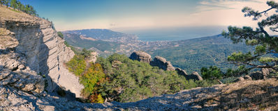 Yalta in Ukraine Royalty Free Stock Photos