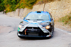 YALTA, UKRAINE 09.14.2013. WOG Yalta Rally Fest. Royalty Free Stock Photos