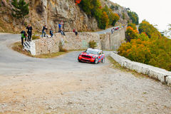 YALTA, UKRAINE 09.14.2013. WOG Yalta Rally Fest. Royalty Free Stock Image