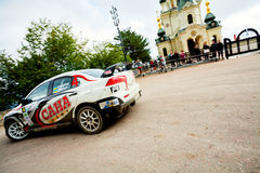 YALTA, UKRAINE 09.14.2013. WOG Yalta Rally Fest. Royalty Free Stock Image