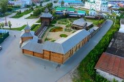Yalutorovsk Sretensky fästning Ryssland Arkivfoton