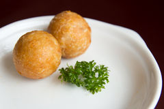 Yam balls Royalty Free Stock Photos