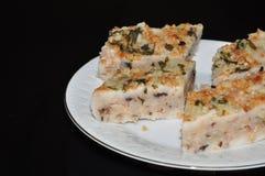 Yam cake Stock Images