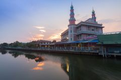 YAM I YA TUN MUSLIMIN SURAO DAENG  Mosque in Bangkok , Thailand.  royalty free stock photos