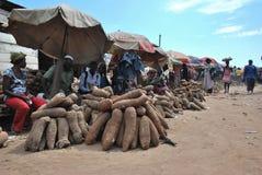 Yam Market comme affaires image libre de droits