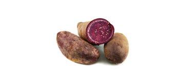 Yam purple Stock Photo