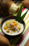 Yam & sweet potato porridge Stock Images