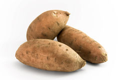 Yam Sweetpotatos Stock Photos