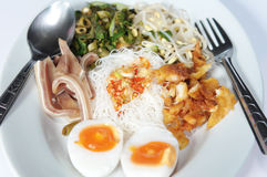 Yam yam food. Thai yam yam food for breakfast Royalty Free Stock Image