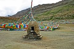 Yama Dwar bij de basis van Onderstel Kailash, Tibet royalty-vrije stock afbeelding