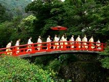 yamabushi церемонии стоковые фото