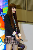 Yamada Akari von der Yumemiru-Adoleszenz-Gruppe Stockfotografie