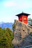 Yamadera świątynia Na Percipice Obraz Royalty Free