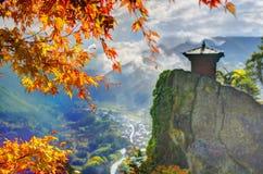 De Tempel van de berg Stock Foto