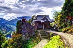 Temple de montagne Image libre de droits