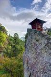 Yamadera góry świątynia Obrazy Royalty Free