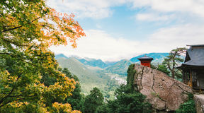 Yamadera Japonia Zdjęcia Royalty Free