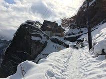 Yamadera Risshaku temple in Yamagato Japan Stock Photos