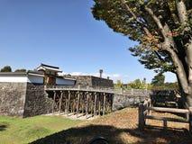 Yamagata Castle Ruins or Kajo Park in Japan. Yamagata Castle Ruins or Kajo Park in Tohoku region of Japan royalty free stock photos
