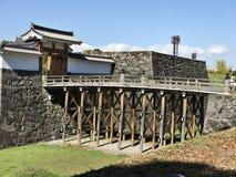Yamagata Castle Ruins or Kajo Park in Japan. Yamagata Castle Ruins or Kajo Park in Tohoku region of Japan stock image
