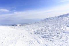 Yamagata Zao Onsen Ski Resort Royalty Free Stock Photography