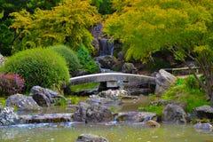 Yamaguchi park parque de Yamaguchi, a japanese garden in Pampl stock photo