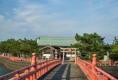 Japanese Shrine Stock Image