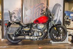 Yamaha-Bout 2015 motorfiets Royalty-vrije Stock Foto's