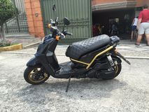 Yamaha Bws Zuma sparkcykel Arkivfoton