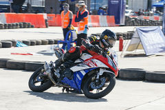 Yamaha Motorbike Racing at Thailand Royalty Free Stock Images