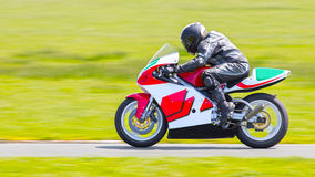 Yamaha motorcycle. / motorbike racing on track Stock Photo