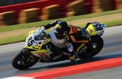 Yamaha motorcycle racing Stock Image