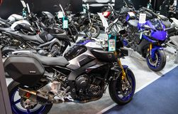 Yamaha motorcycles on 54th Belgrade international car and motor show