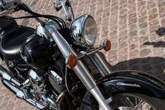 Yamaha motorcykel Arkivfoto