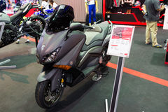 Yamaha Motorowy cykl na pokazie Zdjęcia Royalty Free