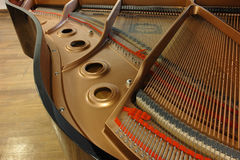 Yamaha piano details Royalty Free Stock Photography